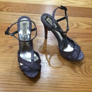 Badgley Mischka Sparkle Heels